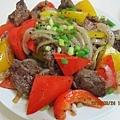 黑胡椒洋蔥牛肉