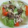 香菇高麗菜湯