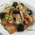 紅棗杏鮑菇燒五花肉
