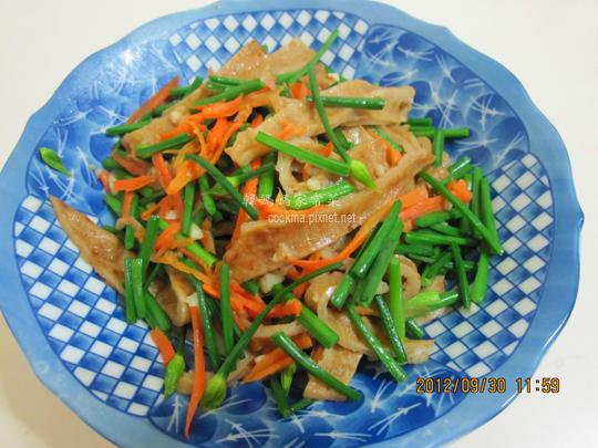 韭菜甜不辣