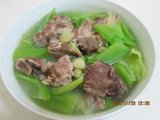 芥菜排骨湯