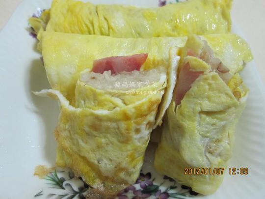 蛋包香腸糯米腸