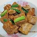 蔥薑燒豆腐