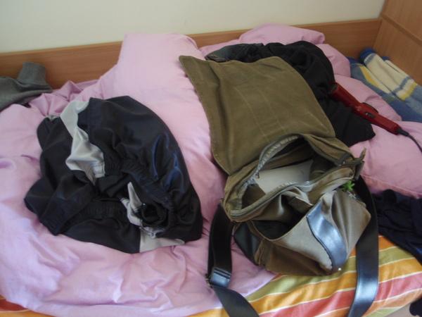我室友整齊的床鋪