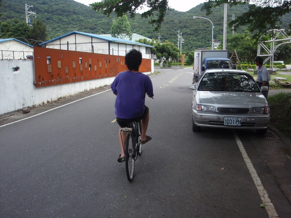 不會騎腳踏車的花蓮王
