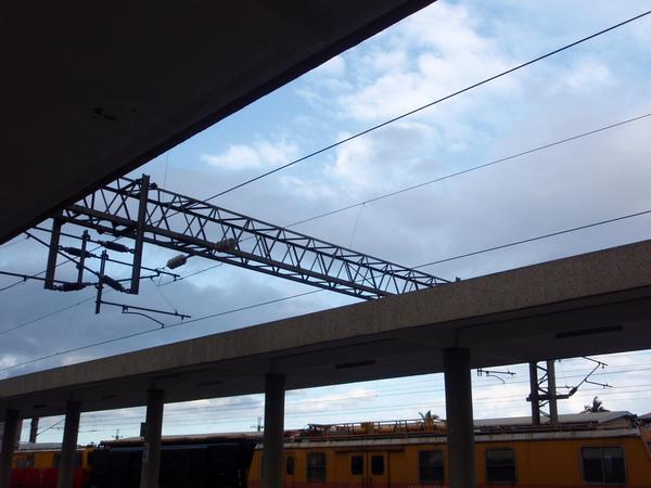 車站的天空