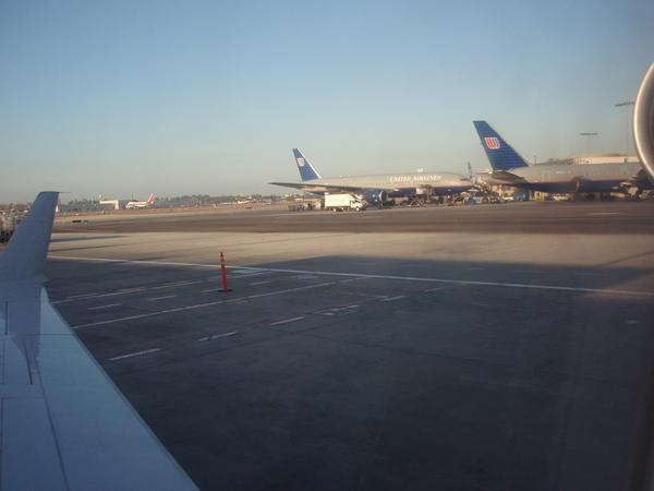 很大的機場