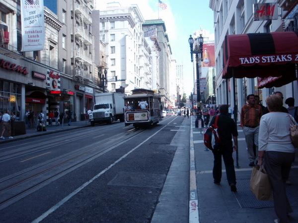 清晨的街道