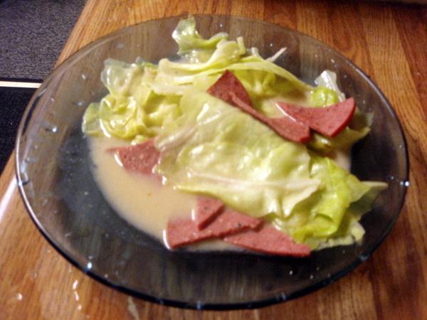 好吃的豆腐乳高麗菜