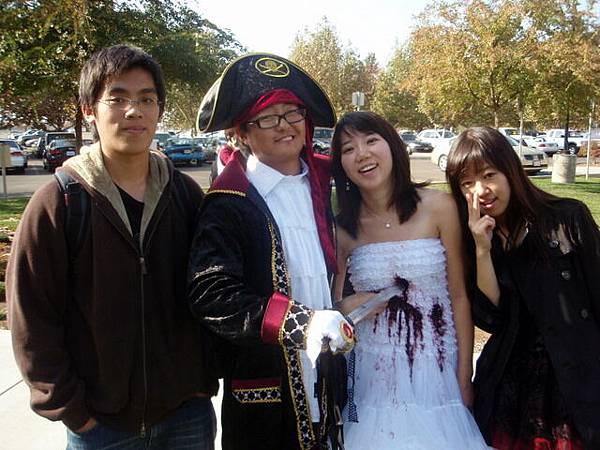 我和一群不認識的韓國人