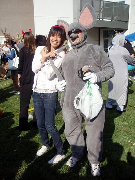 Cindy 和 大老鼠