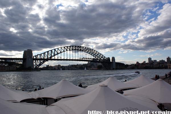 雪梨大橋遠景一張