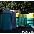 另一部份的流動廁所