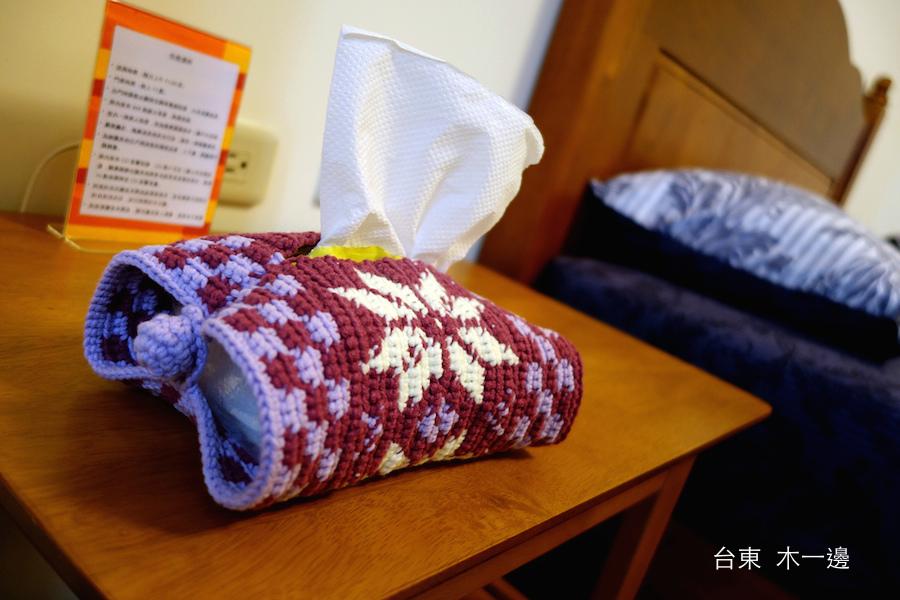女主人編織的面紙套.JPG
