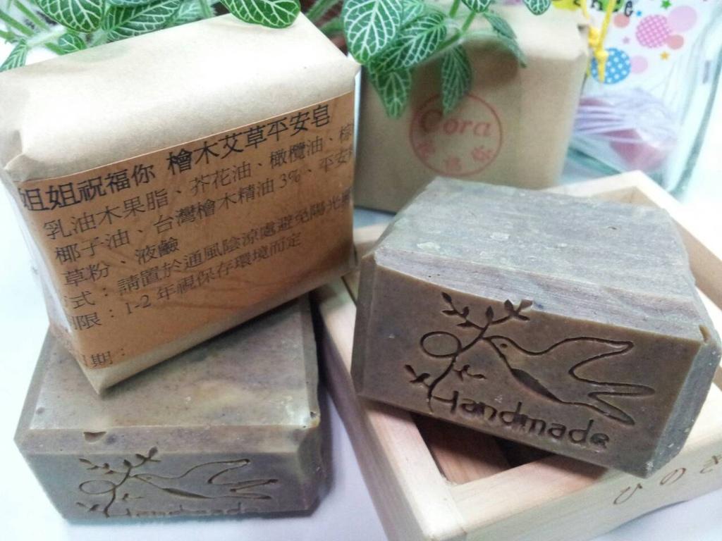 1021003檜木艾草平安皂#3