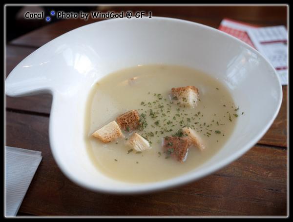 沒有特別出色的濃湯