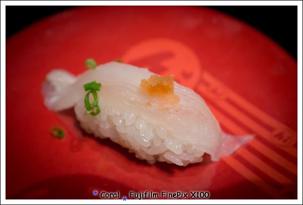 這好像是平目魚握壽司