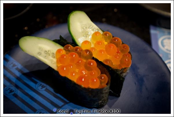 晶瑩剔透的鮭魚子呀!!讚~~