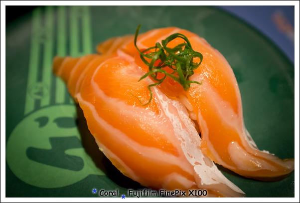 鮭魚腹也很好吃