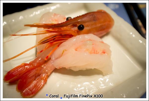 牡丹蝦握壽司~~~好好吃!!