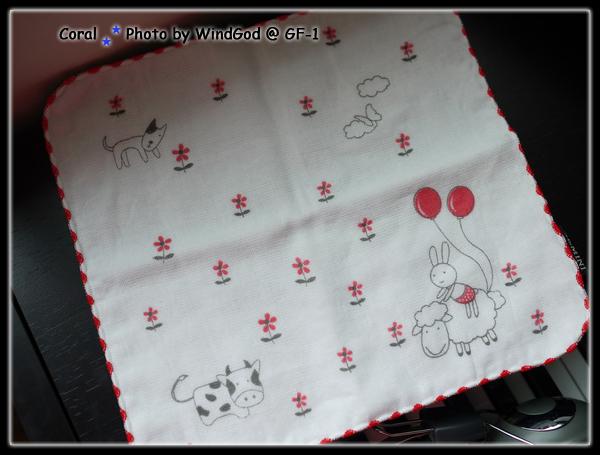 新買的可愛手帕