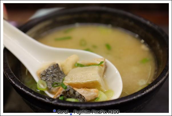 有魚的味噌湯