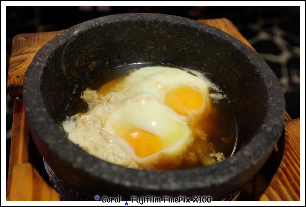 餘溫打2顆蛋弄溫泉蛋~~