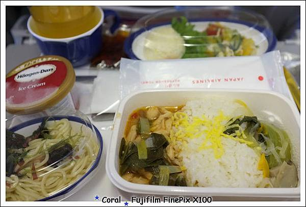 JAL的飛機餐還蠻好吃的