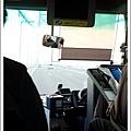 呼~~~順利搭上前往四國的高速bus