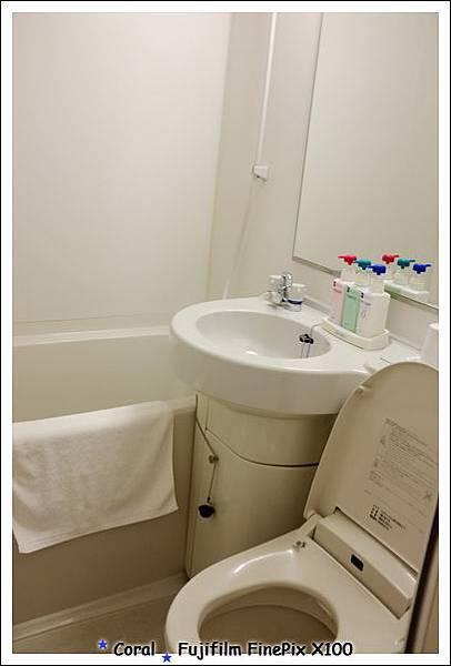 小巧的衛浴設備