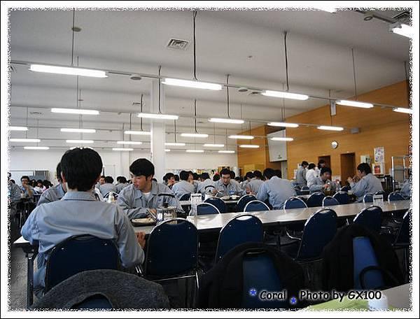 總社的餐廳...隨時隨地都好多人