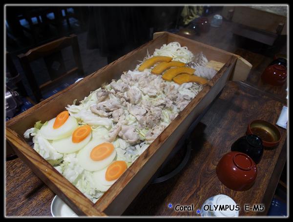 在伊達時代村的午餐