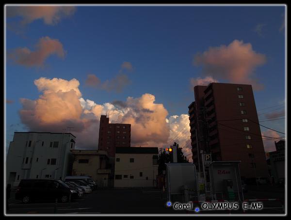 好立體的雲