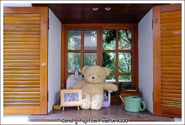 窗邊的大熊熊