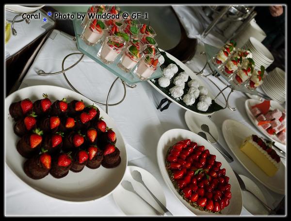 6樣草莓甜點~~~沒想像中的多