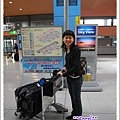 半年的行李...還有一箱空運先寄過去