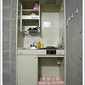 房間有個小廚房