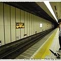 第一次搭京都地下鐵