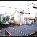 嵐電嵯峨站下車後走去JR車站