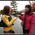 好巧~~~你也來嵐山賞楓嗎??