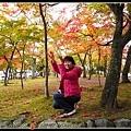 製造落葉紛飛的美景