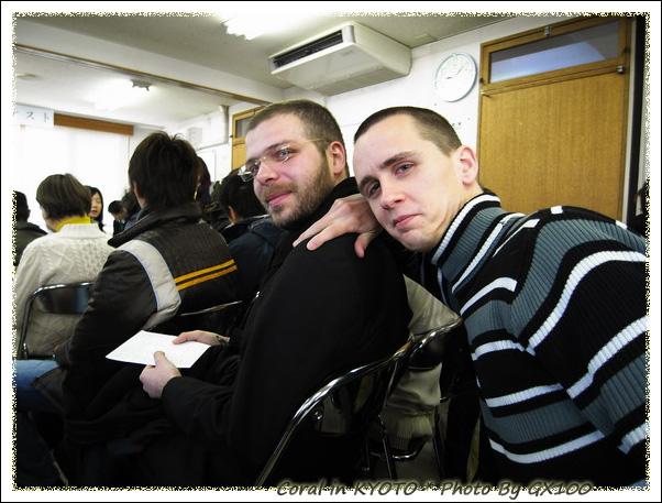我們班的代表デニス和カレ
