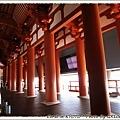 奈良時代難波宮的大極殿