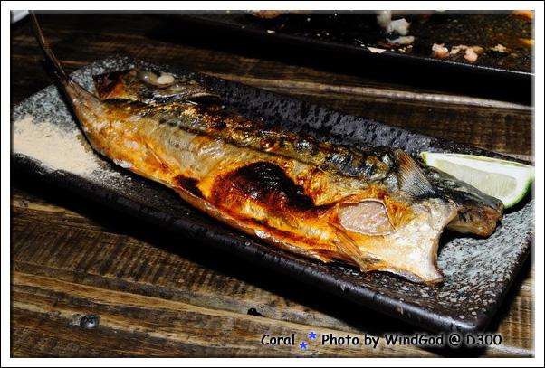 美味的烤鯖魚...讚!!