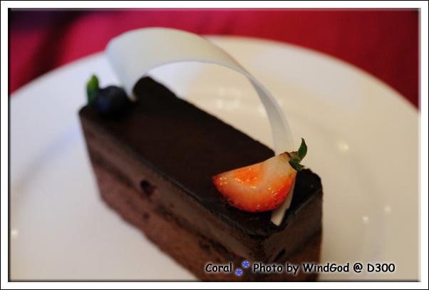 巧克力對我來說有點過甜了