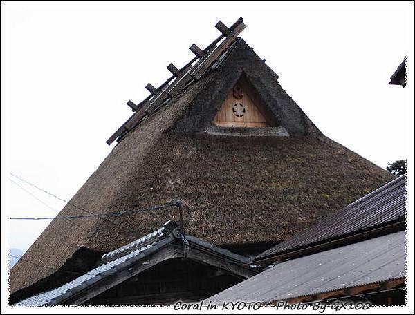 屋頂上的家紋