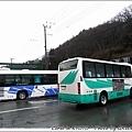 日吉站前面就有往美山的bus