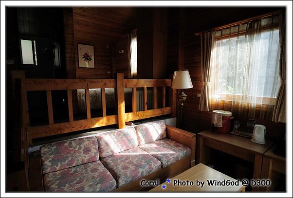 一晚4300的歐式木屋