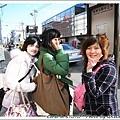 收拾行李後搭公車準備到京都車站