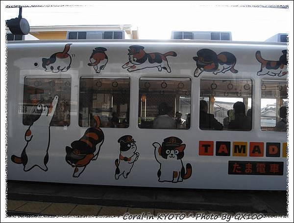 反向列車是tama彩繪耶!!